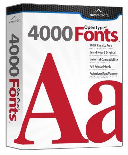 4000 Fonts (PC)
