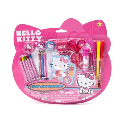 Hello Kitty Stamps and Color Set - 1
