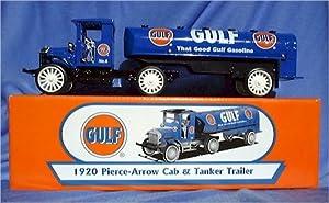 Gulf 1920 Pierce-arrow Cab and Tanker Trailer