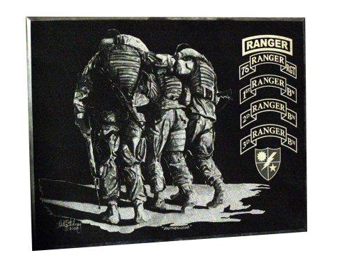 "V&J Michael Solovey ""Brotherhood"" Ranger Wall Art, 5x7-Inch"