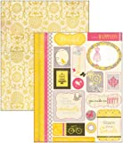 "Blissful Double-Sided Cardstock Die-Cuts 6""X8"" - Icons, Shapes & Borders"