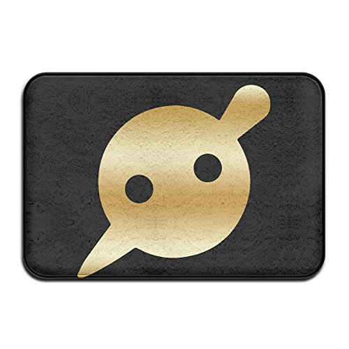 Non-slip Knife Party Gold Logo 40*60cm Doormat Oxjwn