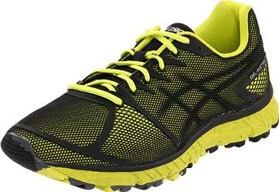 ASICS Men's GEL-Instinct33 Trail Running Shoe,Onyx/Black/Electric Yellow,10 M US