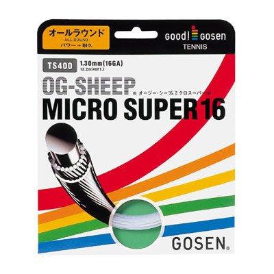 (ゴーセン)GOSEN ミクロスーパー(TS400) ゲージ(太さ):1.30mm