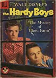 Walt Disney's Hardy Boys - The Mystery of Ghost Farm - Dell Four-Color Mickey Mouse Club Comic #887-1957 - Tim Considine & Tommy Kirk photo cover