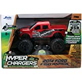 Jada Toys HyperChargers Just Truck 2014 Ford F-150 SVT Raptor R/C Vehicle, Red