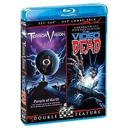 TerrorVision / The Video Dead (Bluray/DVD Combo)