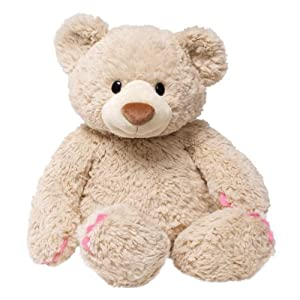 """Gund Fancie 20"""" Teddy Bear with painted fingernails and toes by Enesco"""