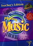 img - for Making Music Grade 7 Teacher's Edition book / textbook / text book