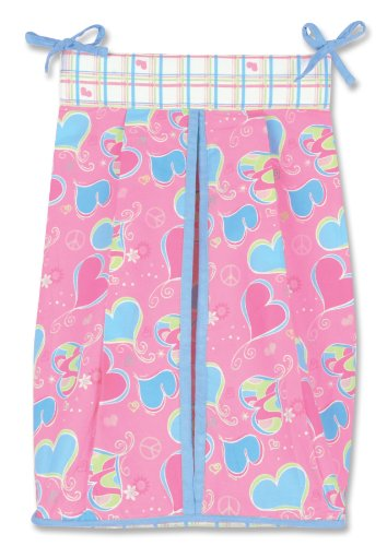 Trend Lab Groovy Love Diaper Stacker