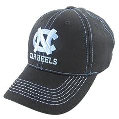 Buy Captivating Headgear North Carolina Tar Heels Navy Blue Adjustable Hat by Captivating Headgear