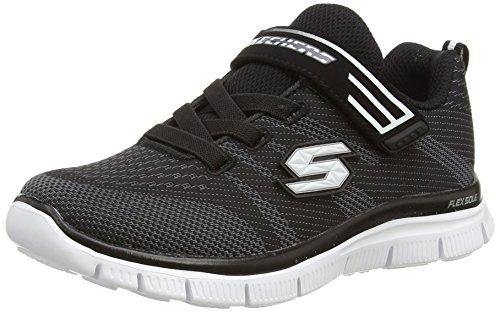 skechers-95523l-zapatillas-de-deporte-ninos-negro-bkw-35