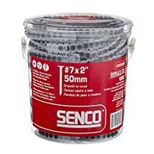 Senco 07A200P DuraSpin No. 7 by 2-Inch Drywall to Wood Collated Screw (1,000 per Box)