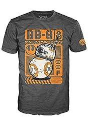 Funko POP! Tees Star Wars The Force Awakens BB-8 Poster T-shirt