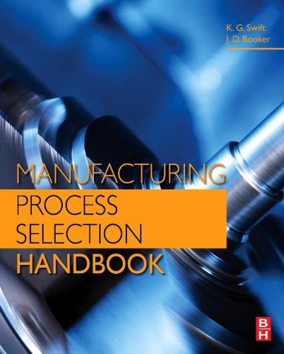 Manufacturing Process Selection Handbook: From Design To Manufacture