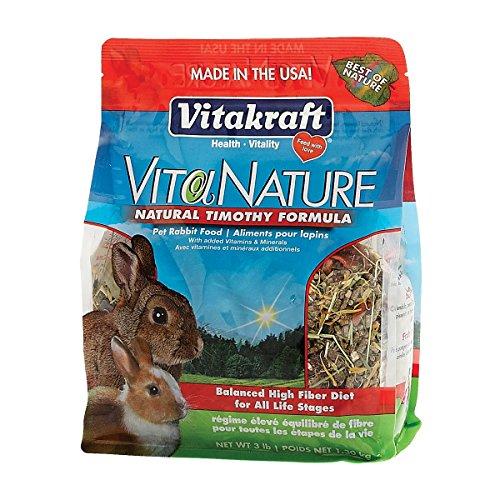 Vitakraft-VitaNature-Pet-Rabbit-Food-Natural-Timothy-Formula-3-lb