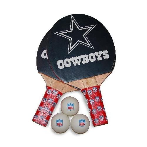 Dallas Cowboys NFL Table Tennis/Ping Pong Paddles