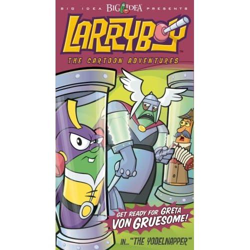 Amazon.com: Larryboy: The Yodelnapper [VHS]: Larryboy