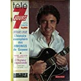 TELE 7 JOURS [No 999] du 21/07/1979 - SACHA DISTEL - LES HMONGS DE GUYANE - ANTOINE BLONDIN.