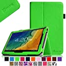 """Fintie Premium PU Leather Case Cover for 10.1'' Android Tablet inclu. Dragon Touch A1 10.1'', iRulu 10.1"""" A20, ProntoTec 10 inch Dual Core Android 4.2 Tablet PC, Polatab Elite Q10.1, ValuePad VP112 10"""", Tagital T10 10.1"""", Shamo's New 10.1"""", Epassion 10.1"""", TouchTab 10.1"""",Amar 10.1""""(PLEASE check the complete compatible tablet list under Product Description) - Green"""