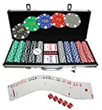 51cf45vwCmL. SL160  Hergestellt für DEMA Pokerchip Koffer 500 Chips Las Vegas