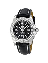 Breitling Women's A7135653-B903BKLT Cockpit Lady Black Dial Watch