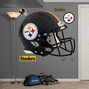 NFL Pittsburgh Steelers Helmet Wall Graphics by Fathead