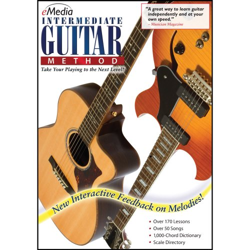 eMedia Intermediate Guitar Method v3 [PC Download] (Classic Guitar Scale Chart compare prices)