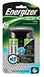 Energizer CHRPROWB4 Pro Charger with 4-AA NiMH Rechargeable Batteries