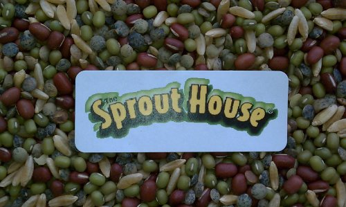The Sprout House Dozen Organic Sprouting Seeds Mixes Sampler Small Quantities of Each Seed Mix Holly's, Mix the Two, Rainbow Bean Mix, Wisdom Blend, 2 Wheats Together, Salad Mix, Veggie Queen Mix, Dill Salad Mix, Hi Power Protein Mix, Bean Salad Mix, Fenn