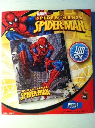 Marvel Spider Sense Spider-Man - 100 Piece Puzzle - 1