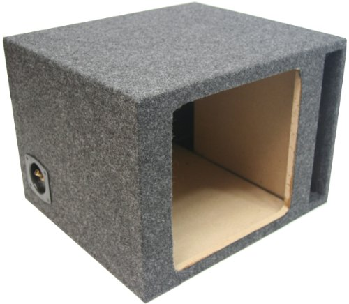 "Asc Single 12"" Subwoofer Kicker Square L3 L5 L7 Vented Port Sub Box Speaker Enclosure"