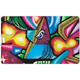 Design Worlds Design Credit Card 16 GB Pen Drive Multicolor - B01GL2B07W