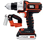 Black & Decker BDCDMT120FL 20-Volt MAX Lithium-Ion Matrix Drill/Driver and Flashlight Kit