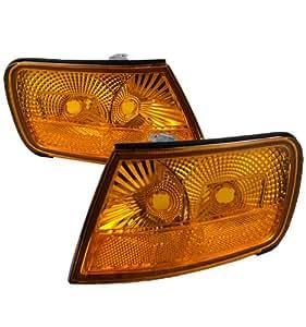 94-97 Honda Accord 2/4 Door Amber/Clear Reflector Corner Lights - 1 Pair (Both Driver and Passenger Sides) (1994 1995 1996 1997 95 96)
