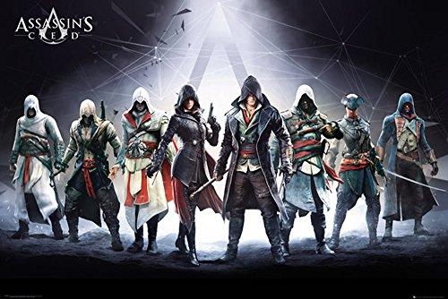 Poster Assassins Creed Syndicate personaggi + accessori