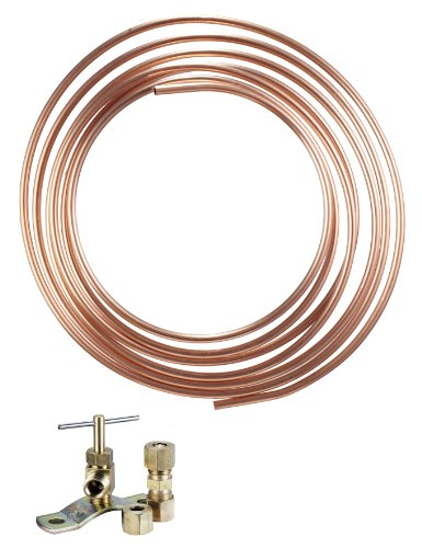 Waxman Consumer Products Group 7360200Lf Low Lead Copper Tube Ice Maker Kit front-566155