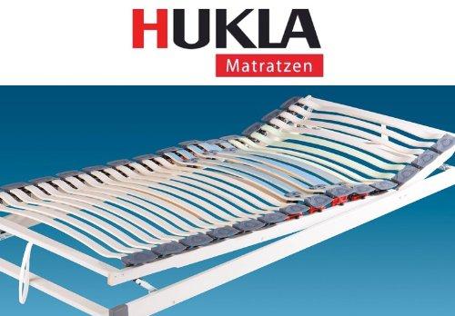 Hukla Dynamic S Flex verstellbarer Federholzrahmen mit Härteregulierung und Bettkastenöffnung, Größen Matratzen:100 x 190 cm