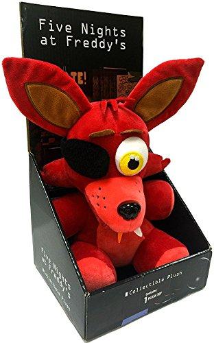 Five Nights a Freddy's-Peluche di volpe, in confezione regalo, con licenza ufficiale