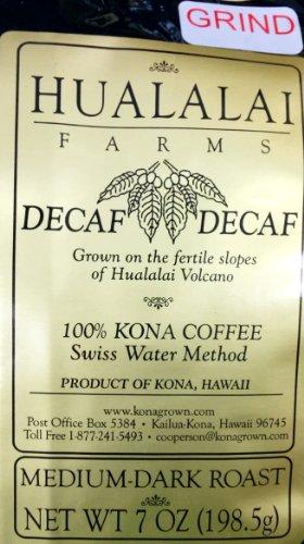 100% Kona Coffee Decaf 7 Oz Ground