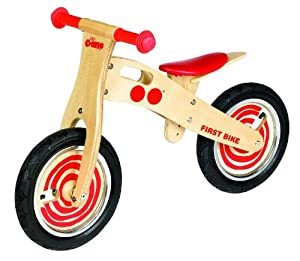Tidlo First Balance Bike (Red)