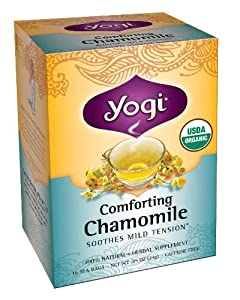 Yogi Comforting Chamomile Tea, 16 Tea Bags (Pack of 6)