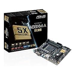 Asus Micro ATX DDR3 2400 AMD Socket FM2 6 x SATA 6Gbs Motherboard A88XM-A USB 3.1