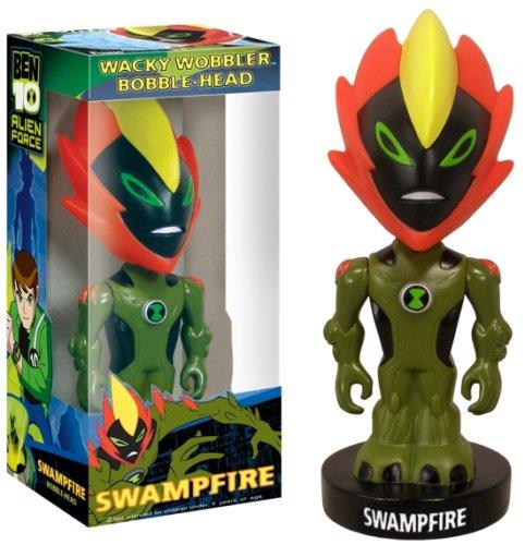 Buy Low Price Funko Ben 10 Funko Wacky Wobbler Bobblehead Figure Swampfire (B0012OSOX8)