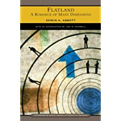 Flatland: A Romance of Many Dimensions (Barnes &amp; Noble Library of Essential Reading) by Edwin Abbott Abbott and Lori M. Campbell