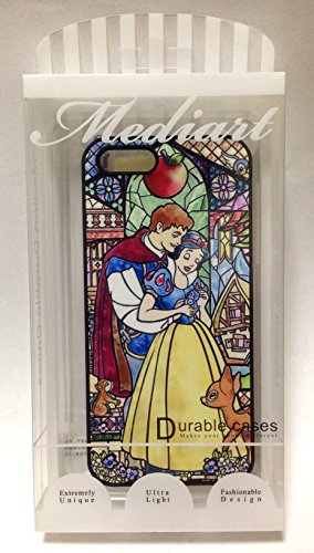 iPhone 5 / 5 S Black hard case snow white Princess style stained glass Bambi illustrations CWS characteristics LCD screen protection seal * mediate genuine promotional hard case iPhone case iPhone parallel imports