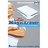 Mr Clean Magic Eraser Kitchen & Dish Scrubber, 4 Count