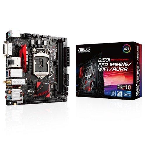 Asustek Computer B150i Pro Gaming/wifi/aura 1151 Mitx wln+u3+m2