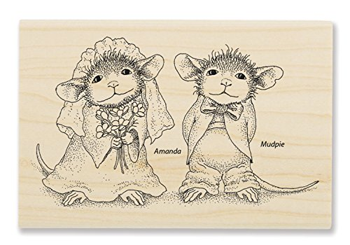 Stampendous Mr. and Meeces Rubber Stamp