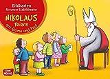 Nikolaus feiern mit Emma und Paul - Bildkarten für unser Erzähltheater (Mit Kindern durch das Jahr - Bildkarten für unser Erzähltheater)